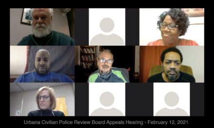 Urbana Civilian Police Review Board Overturns Police Chief's Findings